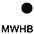 MWHB Белый / Чёрный