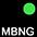 MBNG Чёрный / Неоново-Зелёный