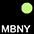 MBNY Чёрный / Неоново-Жёлтый