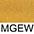 MGEW Золотисто-Жёлтый / Белый