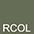 RCOL Оливковый