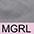 MGRL Серый / Светлая Роза