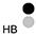 HB Белый / Чёрный / Темно-Серый