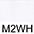 M2WH Белый / Белый