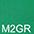 M2GR Зелёный / Зелёный