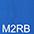 M2RB Ярко-Синий / Ярко-Синий