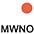 MWNO Белый / Неоново-Оранжевый
