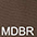 MDBR Тёмно-Коричневый