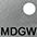 MDGW Тёмно-Серый / Белый