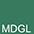MDGL Тёмно-Зелёный / Чёрный Меланж