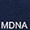 MDNA Глубоко Тёмно-Синий