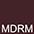 MDRM Тёмно-Красный Меланж