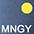 MNGY Тёмно-Синий / Золотисто-Жёлтый