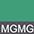 MGMG Зелёный Меланж / Тёмно-Серый