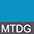 MTDG Бирюзовый Меланж / Тёмно-Серый
