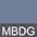 MBDG Синий Меланж / Тёмно-Серый