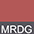 MRDG Красный Меланж / Тёмно-Серый