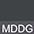 MDDG Чёрный Меланж / Тёмно-Серый