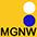 MGNW Золотисто-Жёлтый / Тёмно-Синий / Белый