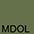 MDOL Тёмно-Оливковый