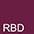 RBD Бордовый Меланж