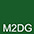 M2DG Тёмно-Зелёный / Тёмно-Зелёный